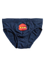 7-pack boys' briefs - Red/Lego -  | H&M 2