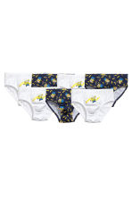 7-pack boys' briefs - White/Minions -  | H&M CN 3