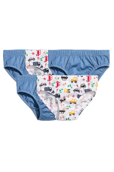 5-pack boys' briefs - Blue/Cars - Kids | H&M 1