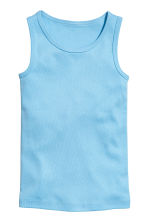 2-pack vest tops - Blue/Cars - Kids | H&M 2