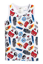 2-pack vest tops - Red/Cars - Kids | H&M 2