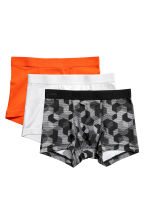 3er-Pack Boxershorts - Orange/Gemustert - KINDER | H&M CH 1