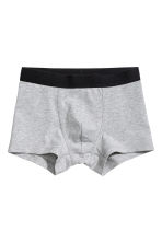 3-pack boxer shorts - Grey marl - Kids | H&M 2