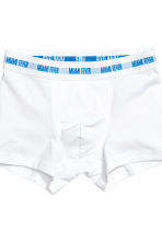 3-pack boxer shorts - Turquoise blue - Kids | H&M CA 3