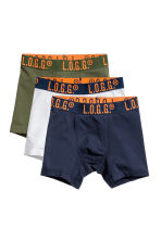 3-pack boxer shorts - Khaki green - Kids | H&M CN 1