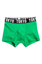 3件入四角褲 - Green/Town - Kids | H&M 2