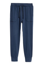 Jersey pyjamas - Dark blue/White striped -  | H&M CN 2