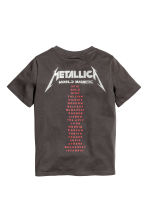Jersey pyjamas - Dark grey/Metallica - Kids | H&M 2