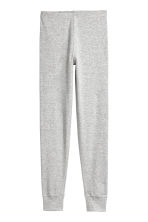 2-pack longjohns - Light grey/Striped - Kids | H&M 2