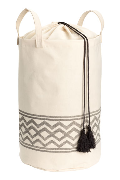 Laundry bag - Natural white - Home All | H&M GB