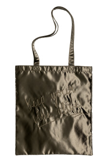 Shopper i satin