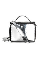 Mini shoulder bag - Silver - Ladies | H&M 1