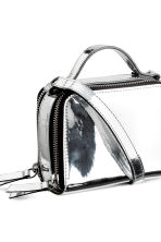 Mini shoulder bag - Silver - Ladies | H&M CN 3