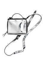 Mini shoulder bag - Silver - Ladies | H&M CN 2