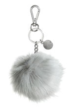 Keyring - Light grey - Ladies | H&M 1