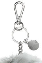 Keyring - Light grey -  | H&M IE 2