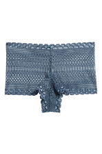 Lace shortie briefs - Pigeon blue - Ladies | H&M 2