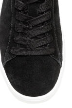 Suede trainers - Black - Ladies | H&M 3