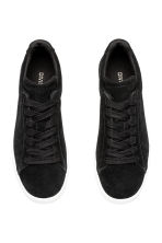 Suede trainers - Black - Ladies | H&M 2