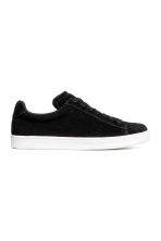 Suede trainers - Black - Ladies | H&M IE 1