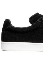 Suede trainers - Black - Ladies | H&M 4
