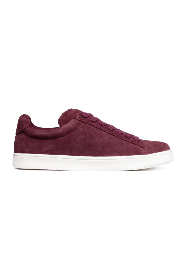 Sneakers scamosciate - Bordeaux -  | H&M CH