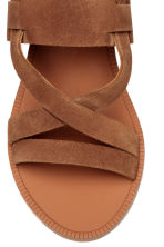 Leather sandals - Camel - Ladies | H&M 3