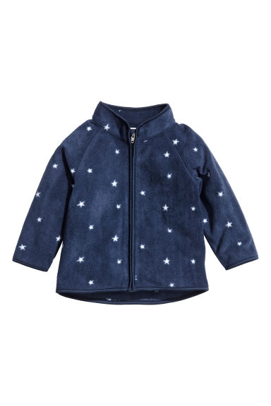 Fleece jacket - Dark blue/stars -  | H&M CA 1