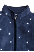 Fleece jacket - Dark blue/stars -  | H&M CA 2