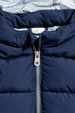 Padded gilet - Dark blue - Kids | H&M CN 2