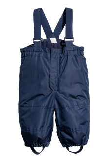 Pantaloni outdoor con bretelle