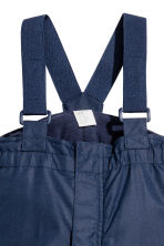 Outdoor trousers with braces - Dark blue - Kids | H&M 4