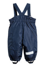 Outdoor Pants with Suspenders - Dark blue - Kids | H&M CA 2