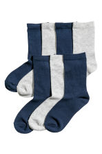 7-pack socks - Dark blue/Grey marl -  | H&M CN 1