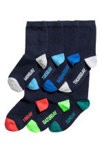 7-pack Socks - Dark blue - Kids | H&M CA 1