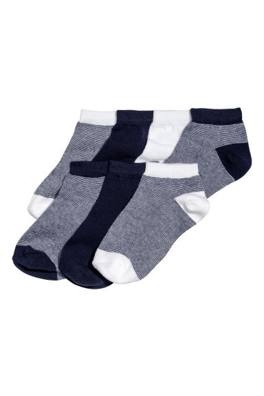 7-pack trainer socks - Dark blue -  | H&M 1