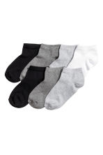 7-pack trainer socks - Grey marl - Kids | H&M 1