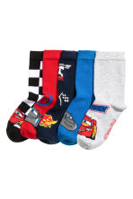 5-pack socks - Red/Cars - Kids | H&M 1