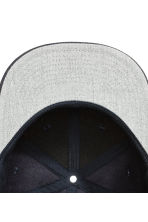 Cap with embroidery - Dark blue - Men | H&M 3