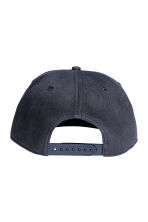 Cap with embroidery - Dark blue - Men | H&M 2