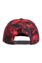 Patterned twill cap - Red/Patterned - Men | H&M CN 2