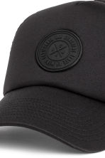 Cap with an appliqué - Black - Men | H&M 3