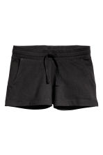 Short jersey shorts - Black - Kids | H&M 2
