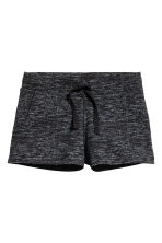Short jersey shorts - Black marl - Kids | H&M 2
