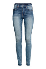 Skinny High Waist Jeans - Denim blue - Ladies | H&M CN 3