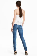 Skinny High Waist Jeans - Denim blue trashed - Ladies | H&M 4