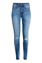 Skinny High Waist Jeans - Denim blue trashed - Ladies | H&M 2
