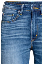 Skinny High Waist Jeans - Denim blue trashed - Ladies | H&M 5
