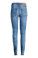 Skinny High Waist Jeans - Denim blue trashed - Ladies | H&M 3