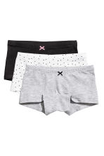 3-pack boxer briefs - Black - Kids | H&M 1